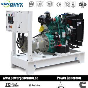 75kVA는 Yuchai 에의한 유형 디젤 엔진 발전기 세트를 연다
