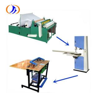 Máquina de enrolamento do tecido de papel higiénico fabricados na China