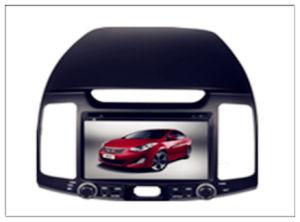 Hyundai Elantra Hdc를 위한 2 DIN Car DVD