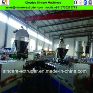 PVC\PEHD\PC de tôle ondulée sur la ligne de production\tuile en plastique de la machine