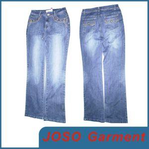 Les femmes Cordon d'Ongles Jeans (JC1031)