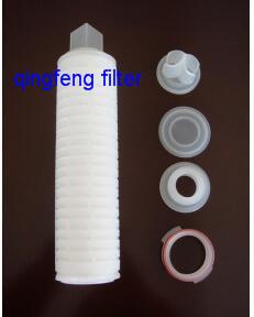 10inch pp. faltete Wasser-Filtereinsatz-Polypropylen-Filtereinsatz für Wasser-Filter-System