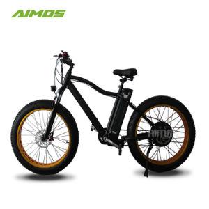 26*4.0 pulgadas 750W 48V 1000W Ebike eléctrico neumático Fat