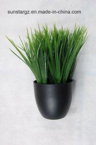 PE долго искусственных травяных культур растений Pottedfor дома (47379)