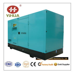комплект генератора 60kVA молчком китайский Рикардо тепловозный