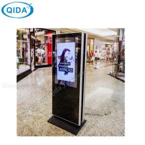 Trépied de sol Android WiFi la signalisation numérique LCD Affichage de publicité