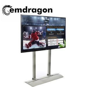 Lecteur vidéo permanent de plancher de la publicité La publicité de plein air 43 pouces LED 1080P de l'écran LED de signalisation numérique mobile