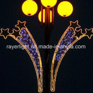 Cuerda suave iluminación LED de luz de la cuerda de la luz de la calle para decorar