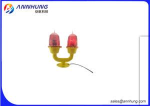 Ah-Li/D de baja intensidad de luz de obstrucción de la aviación Doble/Twin llevó la luz de la aviación