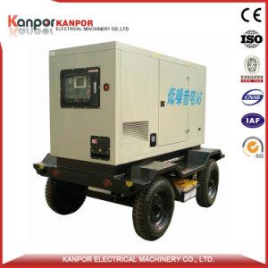 Conception la plus récente de 200kVA Groupe électrogène 160kw Type de remorque a fait pour le marché malais