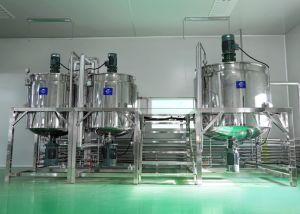 Macchina di fabbricazione liquida di lavatura dei piatti dell'acciaio inossidabile alto miscelatore delle cesoie per sciampo, lozione, sapone liquido, detersivo, antiparassitario