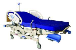 Récupération de livraison du travail intelligent de gynécologie de l'examen Muntifunction Ldr femmes lit avec IV Stand