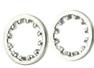 En acier inoxydable dents interne/externe Les rondelles de blocage DIN6797