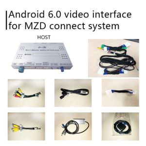 Sistema de navegación GPS Android Lsailt de Verificación de Mazda 6 Atenza Mzd conectar la interfaz de control de la perilla de Waze vídeo
