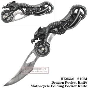 Cuchillo plegable exterior Cuchillos de caza Camping manejar motocicleta cuchilla 21cm.