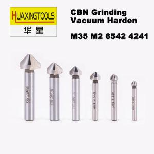 Fraises coniques HSS DIN 335 M35 M2 6542 3 Flûtes à goujure droite Outil d'alimentation