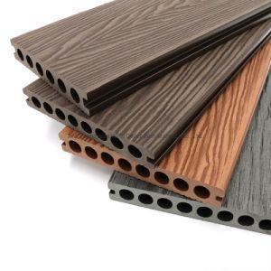 La Chine usine Fabricant Prix de gros feu étanche 3D en plein air en relief le WPC Decking composite de bois