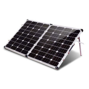 Fabricante de paneles solares en China 200 W 12V plegable Panel Solar monocristalino 2pcs 100W