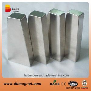 N42 magnetiseerde Permanente NdFeB diametraal de Magneet van de Generator van de Motor van de Boog