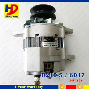 R210-5/6D17 de Alternator van Motoronderdelen voor Mitsubishi