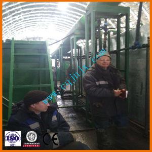 Aceite negro el reciclaje de residuos de destilación de la máquina de purificación del aceite del motor