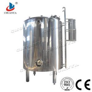 2017 En acier inoxydable industriel de la préservation de la chaleur du réservoir de stockage personnalisée