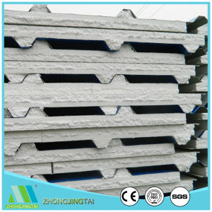 Material Acero Metal EPS/PU/Glasswool/panel sándwich de lana de roca