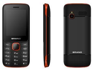 GSM SIM van de Band van de Vierling van lage Kosten 2.4inch de Dubbele Mobiele Telefoon van de Staaf van de Tjilpen van Facebook van de Telefoon