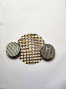 Металлический сетчатый фильтр из латуни и Ss