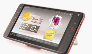 Huawei S7 Tablette des Android-2.2 mit WiFi, 3G, GPS, Handy-Funktion