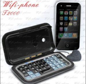 De Mobiele Telefoon van het Toetsenbord van TV Java Qwerty van WiFi van T2000