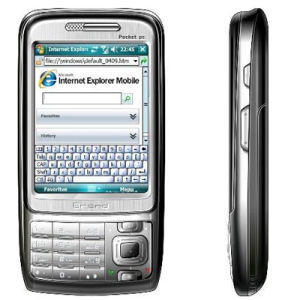 PDA Handy-Windows Mobile-6.0 eMail-Büro Mac OS-WiFi MSN