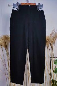2020 Pantalón tejido Sstretch Corea informal Las mujeres