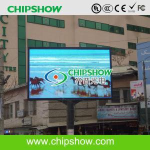 Chipshow P10 DIP LED pour panneau Affichage de la publicité de plein air