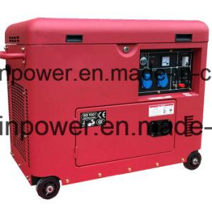 5kw 휴대용 디젤 엔진 발전 (SG5500SE)