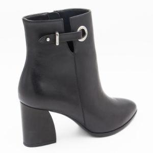 Están decoradas de metal Calfskin de buena calidad los zapatos de cuero para mujer