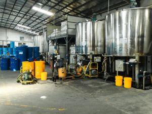 Heiße wasserbasierte grüne Ausschnitt-Flüssigkeit des Verkaufs-Scc638 mit Fabrik-Produktion