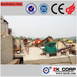 Vestir a planta de extracción de mineral de cobre