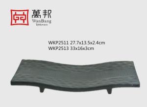 La mélamine longue plaque voûté avec un haut pied (WKP2511)