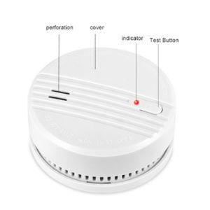 2019ホームのためのスマートな85dB光学センサーの火災報知器の探知器