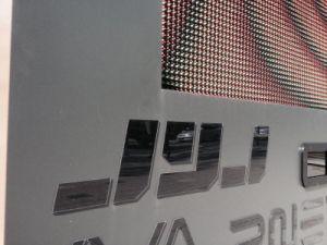 P7.62 SMD 3dans1 étape Affichage LED de fond