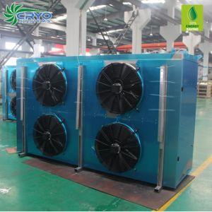 Aço inoxidável cobre o resfriador de água do condensador do evaporador o evaporador para sala de armazenagem a frio