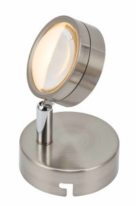 [1لد] [سمد] [5و] عال جهد فلطيّ ألومنيوم [لد] مصباح كشّاف مصغّرة مع قاعدة مستديرة