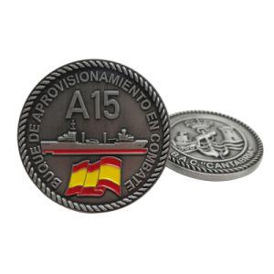 工場価格記念品(CO40)のためのカスタマイズされた亜鉛合金の柔らかいエナメルの金属の硬貨