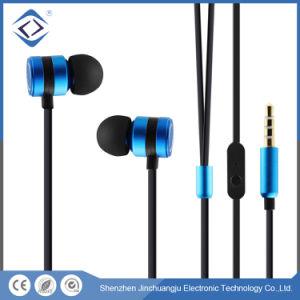 Plug-in de 3,5mm Ear Wired auriculares estéreo para trabalhar