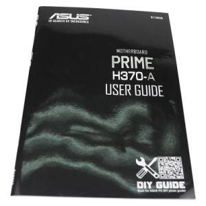 カスタムカラーパンフレットカタログの印刷の使用説明書
