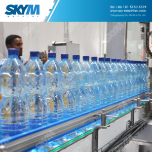 自動4000bph純粋な飲み物水丸ビンの充填機