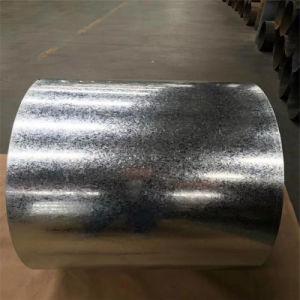 Spangle regular de materiales de construcción de la bobina de acero galvanizado para techos hoja