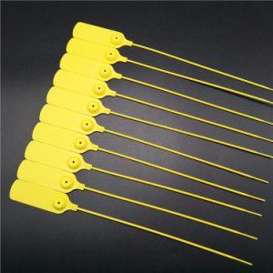Trava única selos de segurança de plástico as vedações de comprimento ajustável (JY300R)