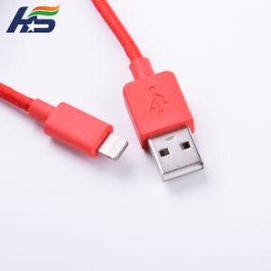 Нейлоновая оплетка кабеля micro-USB быстрая зарядка и кабель передачи данных на высокой скорости двусторонний разъем USB